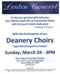 Deanery Concert @ Main Church